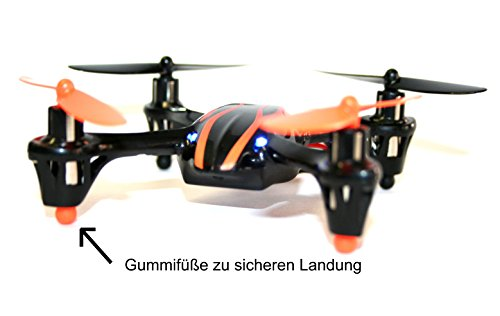 MikanixX Spirit X006 Drohne - 2,4Ghz Quadrocopter mit 6 Achsen Technik 3D RTF