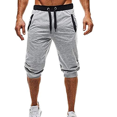 Pantalones Cortos Hombre Deporte Verano Vaqueros Trabajo