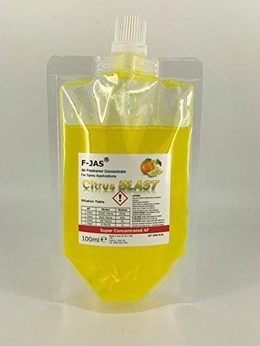 Citrus Blast (F-JAS Lufterfrischer Super Konzentrat (100ml Beutel) Citrus Blast)