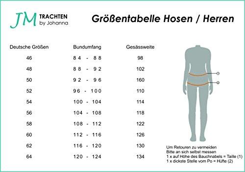 Oktoberfest Trachtenanzug Lederhose+Trachtenhemd+Strümpfe+Träger+ Schuhe+strümpfe 46 -
