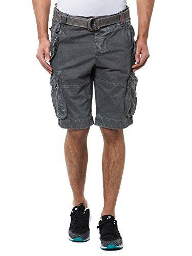 Superdry pantaloncini Cargo da NEW CORE Cargo HEAVY sallerturin James Grey grigio XL
