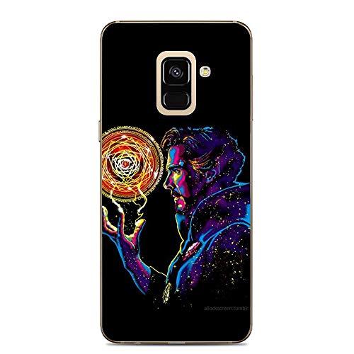 BEMAGIC Galaxy A6 Case,Flexible Slim Silicone TPU Protector Cover Soft Thin Gel Skin for Samsung Galaxy A6-Doctor Stephen Strange - Silicon Protector Case