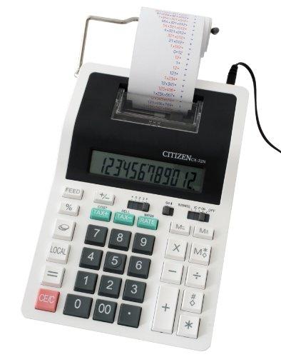 Citizen CX32N Druckender Tischrechner, weiß