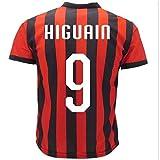 Maglia Higuain AC Milan Replica Campionato Serie A 2018/2019 PS 27421GH-8 Anni