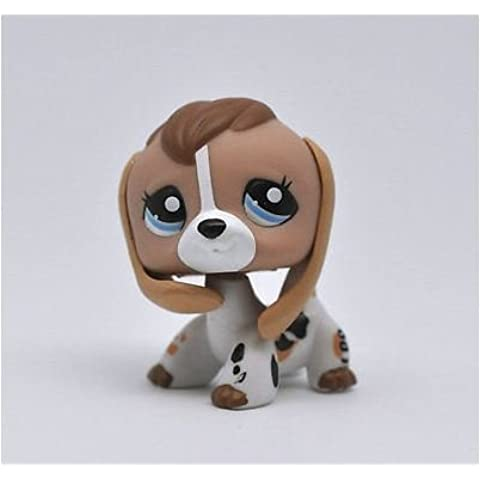 Great gifts store littlest pet shop Pet Beagle Puppy Dog Child Girl Boy Figure Toy Loose Cute by new