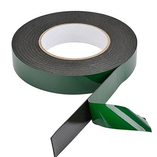Rollo de cinta de espuma negra