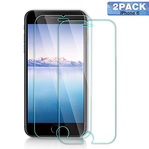 SGIN iPhone 6/6S Panzerglas Schutzfolie,[2 Stück] 9H Härte,Ultra-dünner HD Displayschutzfolie,Anti-Kratzen, Anti-Öl, Anti-Bläschen, für Screen Protector iPhone 6/6S