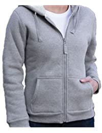 Winter Hooded Sweat Jacket For Women With Winter Cap And Gloves