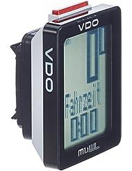 VDO M1 WL Fahrradcomputer (Funk), schwarz
