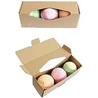 Set von drei sortiert Shea Butter Badekugeln preisvergleich bei billige-tabletten.eu