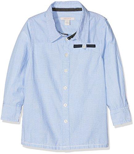 Esprit Kids Baby-Jungen Hemd Bluse, Blau (Sky Blue 411), 68