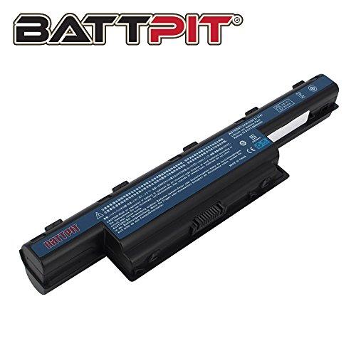 BattPit® Laptop Akku für Acer AS10D31 AS10D51 AS10D56 AS10D75 AS10D81 AS10D61 AS10D41 AS10D73 AS10D71 AS10D3E Aspire 5742 5750 5733 7750G Laptopakku Ersatzakku Batterie [9 Zellen/6600mAh/71Wh]