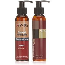 Yacel For Men Tratamiento Champú + Acondicionador para Barba - 250 ml