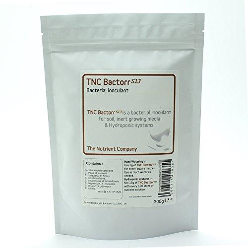 TNC BactorrS13 - bactéries bénéfiques pour le thé de compost, hydroponique & horticulture (75g)