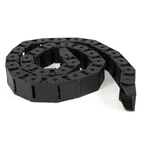 Longueur 105 cm Machine frein Towline Chaîne plastique Noir 18 mm x 25 mm