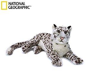 Venturelli Leopardo de la Nieve Grande NGS Animal Bosque Peluches Juguete 831,, 8004332708230