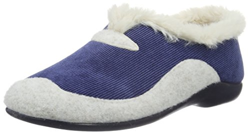 florett-damen-mia-flache-hausschuhe-blau-marine-25-42-eu