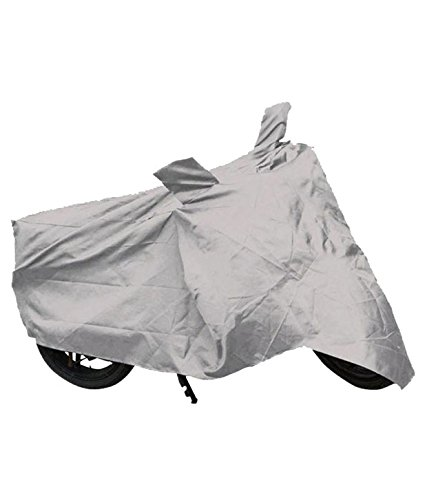 storevila Two Wheeler Cover for Honda Dio-silver  available at amazon for Rs.150