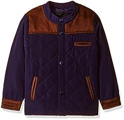 United Colors of Benetton Boys Jacket (16A2JACK0015IK25L_Royal Blue_L)