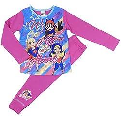 DC Comics Pijama - para niña Rosa Rosa