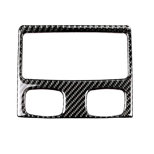 XZANTE Luft Auslass Rahmen Rahmen Verzierung Aus Kohle Faser Heck Klimaanlage Für E90 3 Serie 2005-2012 320i 325i Auto Form - Teil B