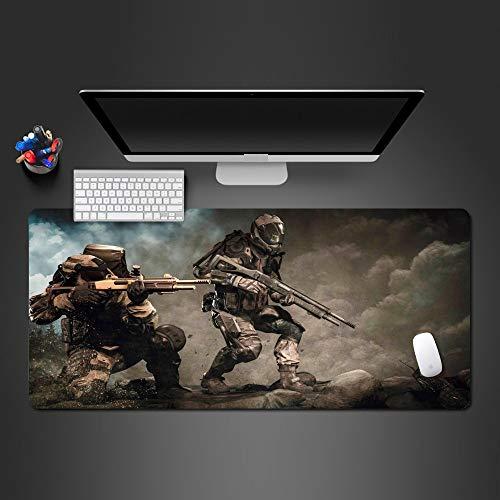 - PadsGroße padmouse To Computer Gummi Anti-Rutsch - Mousepad Team - Spiel Mauspad Halloween - Geschenk-90CMX40CM ()