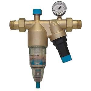 Hauswasserstation von BWT Wasserfilter mit Rückspülfilter