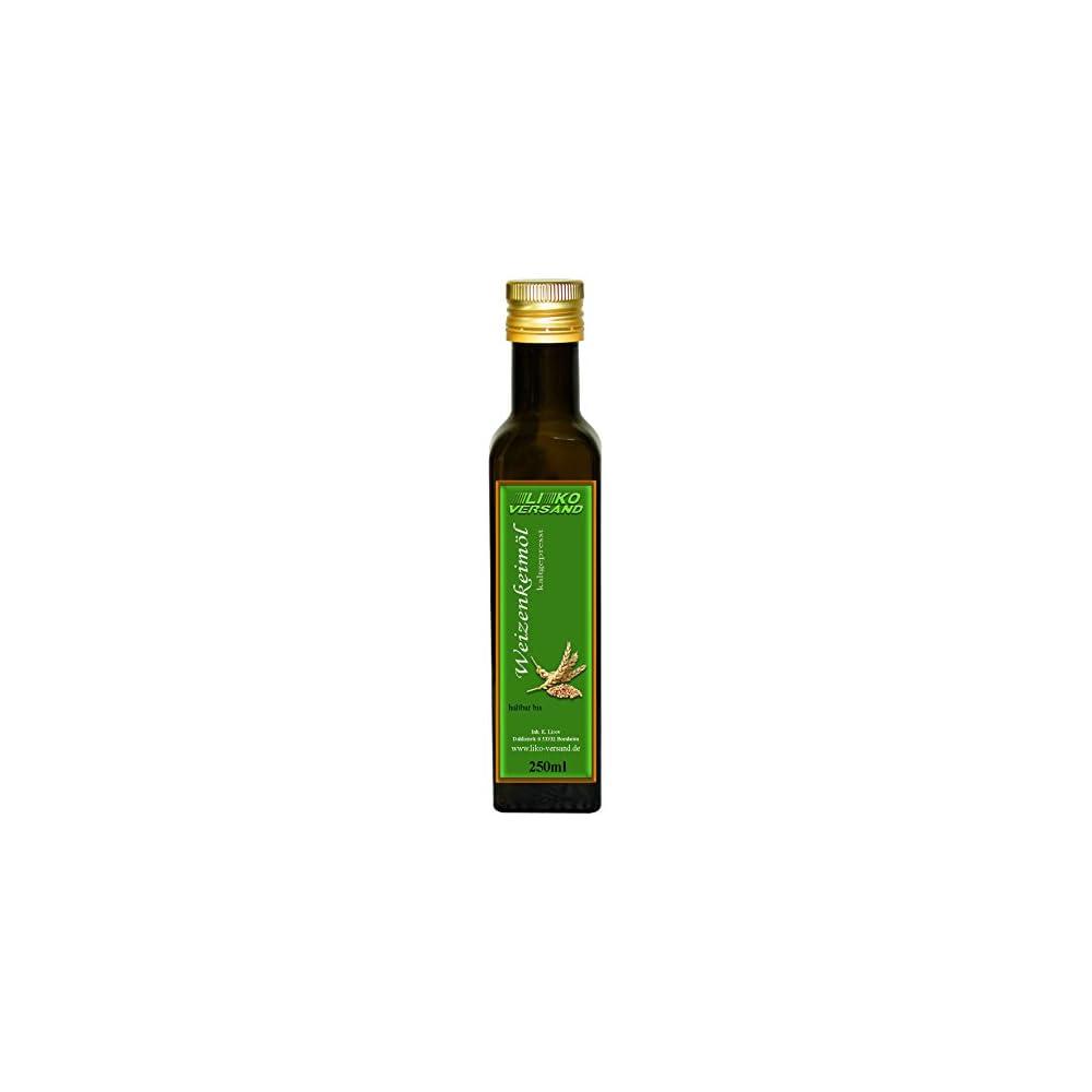 Weizenkeiml Kaltgepresst Nativ Speisel Kosmetikl 250 Ml 400100ml
