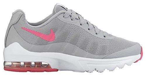 Nike Girls' Air Max Invigor (GS) Trainers, Grey (Wolf Grey/Hyper Pink-Cool Grey...