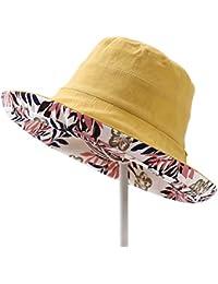 DORRISO Pescador Sombreros Mujer Protección UV Turismo Playa Pescar  Vacaciones Montañismo Visera Sombrero Algodón f979ecae845