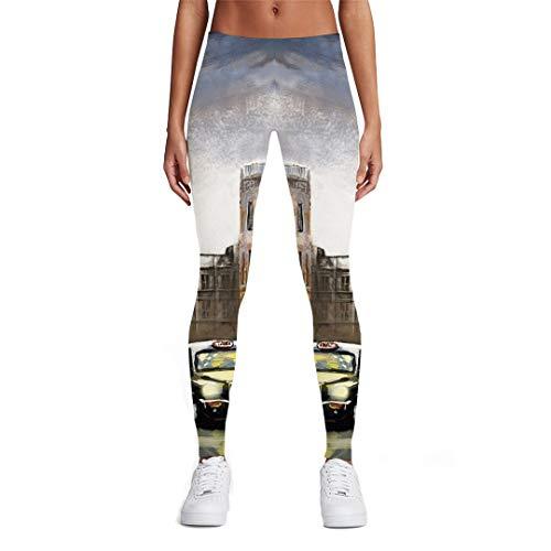DE-pants-personality Psychedelische Gamaschen-Frauen-Feuerwerks-3D Druck-Raum-Bunte gedruckte Hosen-Sport-Frauen-Gamaschen-Hosen Ladies leggings05 XL -