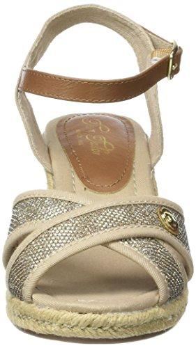 Tom Tailor 2790809, Sandales Bride Cheville Femme Beige (beige)