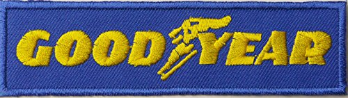 goodyear-tires-embroidered-badge-patch-iron-or-sew-on-12cm-x-3cm