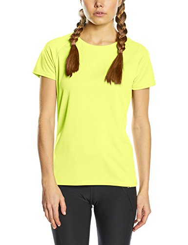 Fruit of the Loom Performance, Top de Sport Femme Yellow (Bright Yellow)