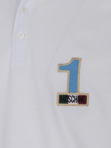 Moschino Herren Shirt Poloshirt #1 Weiß