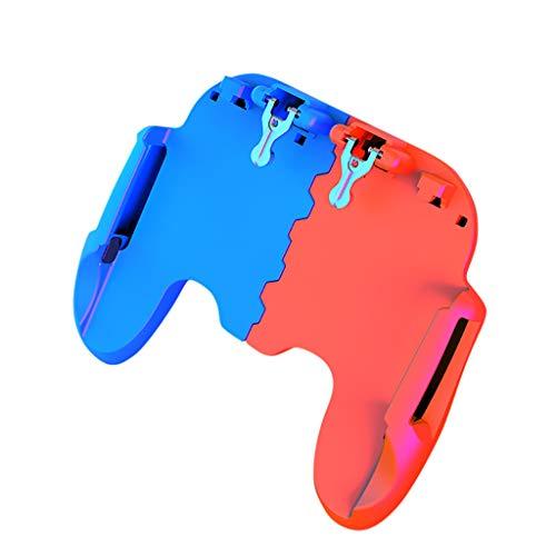 Spielkonsole Tragbare, CHshe Gamepad Controller Mobile Trigger Spiel Konsole Feuerknopf Shooter Joystick Spielkonsole Für Handy Ios Android Smart Phone Panasonic Analog-tv