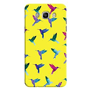 ColourCrust Samsung Galaxy J7 (2016) Mobile Phone Back Cover With Bird Pattern - Durable Matte Finish Hard Plastic Slim Case