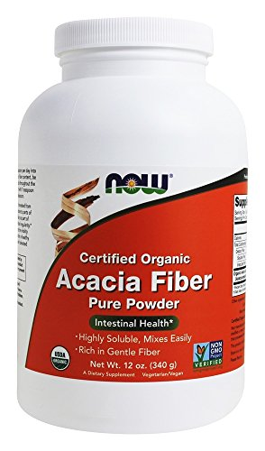 Acacia Fiber Organic Powder 12 oz by Now Foods - 41P52m4 gaL
