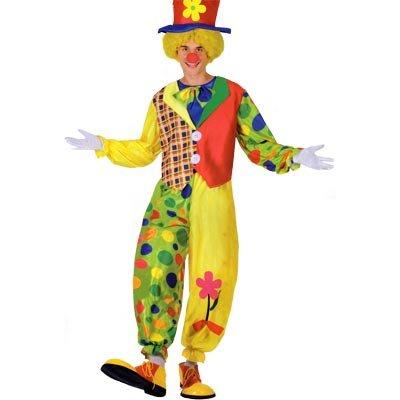 Ciao 17000 - clown, taglia xl, multicolore