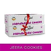 WISH A CUPCAKE Handmade Jeera Salted Cookies 600 gm (Pack of 2)