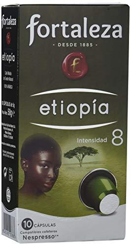 Café Fortaleza, Cápsulas de café (Etiopia) - 5 de 10 Cápsulas (Tot