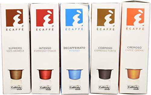 Kit 50 capsule e' caffe' - caffè capsule originali caffitaly system