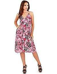 Damenmode Damen Mini Spielanzug Damen Sommer Strand Blumenmuster Azteken Muster Kleidung & Accessoires