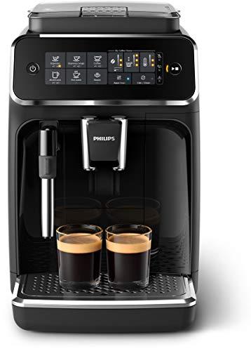 Philips 2200 Serie EP3221/40 Kaffeevollautomat (SensorTouch Benutzeroberfläche) schwarz/klavierlack-schwarz - Philips-serie