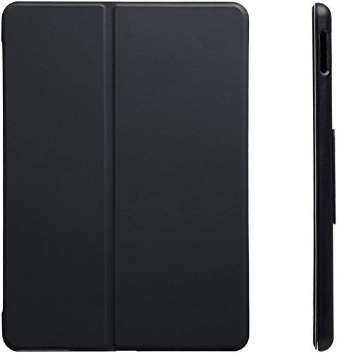 AmazonBasics New iPad 2017 Smart Case Auto Wake/Sleep Cover, Black, 9.7