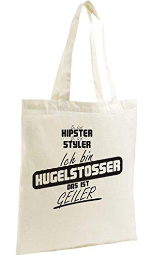 Shopping Bag Zuppa Organica Zen, Shopper Sei Hypster Sei Styler Io Sono Il Culo Palla Che È Natura Cornea