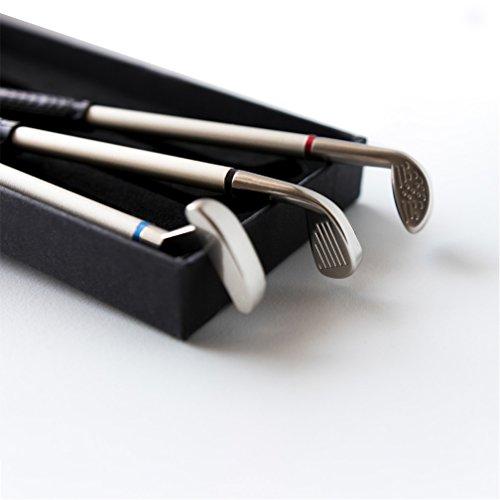 Valentinstag geschenk für ihn Golfgeschenke für Papa Mens-Geschenk-Sets Vater Golf geschenke für Papa Golfclubs Grandad Neuheiten Golf-Score-Stifte lustige Geschenke bester Freund