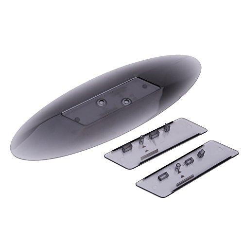 Rrimin Vertical Stand Holder Protector Black Crystal Bracket for Sony...