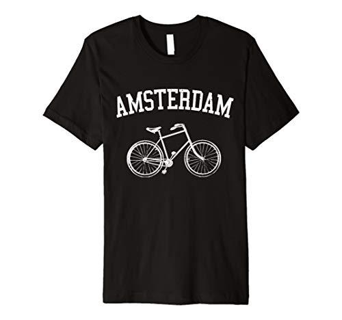 Amsterdam Shirt - Vintage Hollandrad Niederlande Geschenk