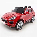 FP-TECH Auto ELETTRICA per Bambini Macchina Jeep 2 POSTI 2WD 12V con Telecomando SUV (Rossa)